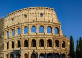 Partial view of Coliseum ruins. Italy, Rome. — Stock Photo