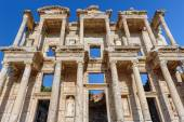 Ancient Celsius Library in Ephesus, Turkey — Foto de Stock