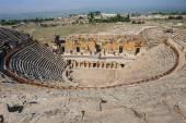Ancient amphitheater in Hierapolis — Stock Photo