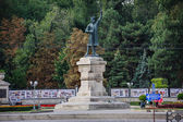 Monument of Stefan the Great, cel Mare, in Chisinau, Moldova — Stock Photo