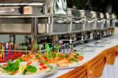 Catering wedding — Stock Photo