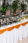 Catering wedding — Stock Photo