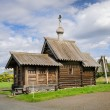 Small wooden church at Kizhi, Russia — Stock Photo #63610635