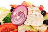 Salat mit thunfisch und gemüse — Stockfoto