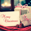 Christmas greeting — Stock Photo #56932493