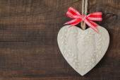 Wooden heart — Stock Photo