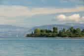 Sea and island — Stock Photo