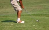 Golfista — Fotografia Stock