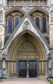 Westminster Abbey, Northern entrance — Stock Photo