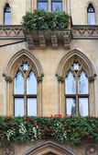Westminster school - Dean' S Yard balcony — Stock Photo