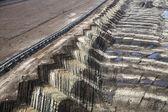 Coal mine view — Fotografia Stock