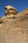 View of the rocks in Petra, Jordan — Stock Photo