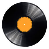Vinyl record disc — Stockfoto