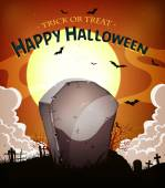 Halloween Holidays Background — Stock Vector