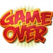 Постер, плакат: Game Over Icon For Ui Game