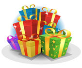 Happy Birthday Gifts Pack — Vecteur