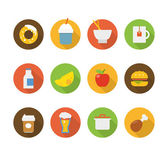 Color interface icons  — Stock Vector