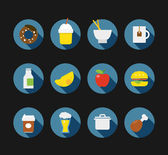 Color interface icons. Design elements — Stock Vector