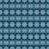 Snowflake seamless pattern. Design template — ストックベクタ