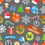 Christmas vector elements collection. Design template — Stock Vector