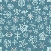 Snowflake seamless pattern. Design template — Stock Vector
