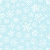 Snowflake seamless pattern. Design template — Stock Vector