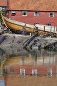 Starej stoczni w miejscowości spakenburg — Zdjęcie stockowe