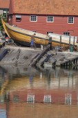 Spakenburg の村の古い造船所 — ストック写真