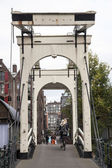 Drawbridge on prinseneiland in amsterdam — Stok fotoğraf