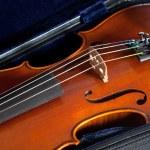 Violin in case — Stock Photo #63803791