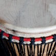 Closeup of traditional african drum — Stock Photo #66792517