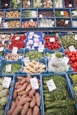 Fruit and vegetables on market in the netherlands — Stock fotografie