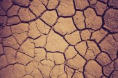 Dry soil during the drought — Stock Photo