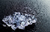 Ice crystal — Stockfoto