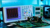 Measurement of a waveform — Stock Photo