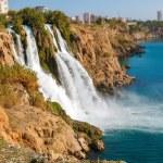 Waterfall Duden in Turkey — Stock Photo #59367545