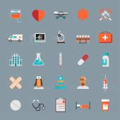 Medical Icons 25 Set — Stock Vector