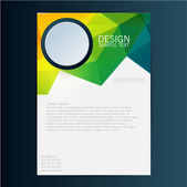 Brochure Flyer design  template — Stock Vector