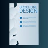 Brochure Flyer design — Vecteur