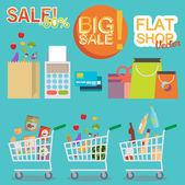 Store sale — Stock Vector