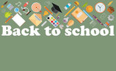 Volta às aulas — Vetor de Stock