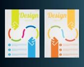 бизнес шаблон дизайна — Cтоковый вектор