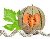 Cantaloupe melon — Stock Photo