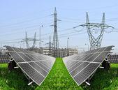 Solar panels — Foto de Stock