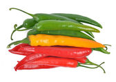 Hot chilli peppers — Stock Photo