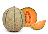 Orange cantaloupe melon — Stock Photo