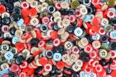 Buttons of many colors — Stock Photo