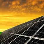 группы солнечной энергии — Стоковое фото #54517089