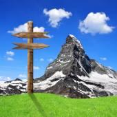 Cervin - alpes suisses — Photo