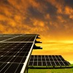 группы солнечной энергии — Стоковое фото #57632245